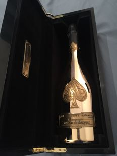Champagne Armand de Brignac Brut Gold Limited Edition with Branded Box and Bag  - 1 bottle (75cl)