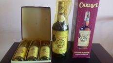 1 Carlos I Solera Special & 1 Gift Box with 3 small bottles by Pedro Domecq