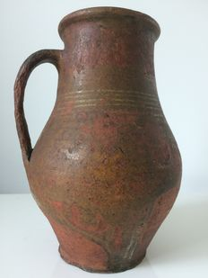 Terracotta pitcher