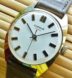 CORSAR 17 jewel men's watch - 1970s