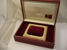 Watch box with the Rolex initials. Reference: 60.01.2 – For lady president – 1970's
