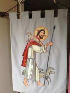 Banner or tapestry various materials