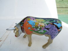 Cow Parade - Moovin all in - medium - porcelain
