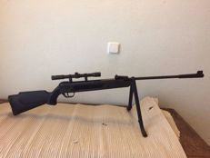 Sniper Afrilec - air gun 4,5mm + scope + laser