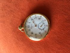 Longines Pocket Watch - End of XIX century - Gold 18kl