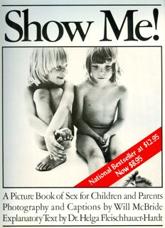 Will McBride - Show Me! A Picture Book of Sex for Children and Parents  (1975)