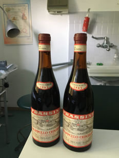 1965 Amarone Groppello Frassine Vintage  2 Bottles