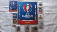 Panini - UEFA Euro France 2016 - Empty album + complete loose stickerset (680) + complete supplement.