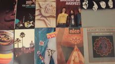 Lot of fantastic 10 Rock LP Album (Stones, Procol Harum, Barclay James Harvest, The Nice, Eagles, ELO a.o.)