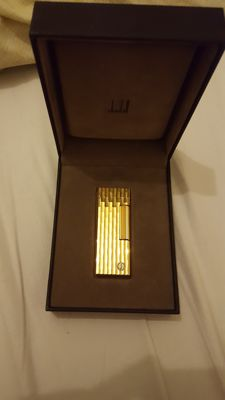 Gold plated Dunhill lighter