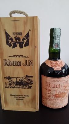 Very old agricole rum J.M Vintage 1989 - 15 years old