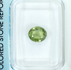 Demantoid garnet – 1.09 ct