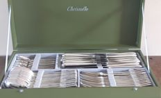 Christofle, Perles Cutlery section, 72 pieces