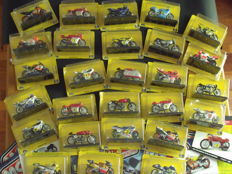 Protar-Fabbri - Scale 1/22 - complete collection of motorcycles Grand Prix - World Championship from 1949 to 2004