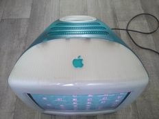 Apple iMac G3/333 Blueberry - M4984, from 1999 - 333Mhz G3, 160MB RAM, 80GB HDD, CD, MacOS 9