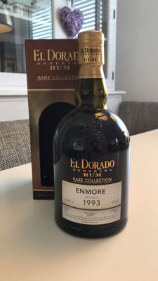 El Dorado Rare Collection - Enmore Rum 21y - Vintage 1993 - Bottled 2015