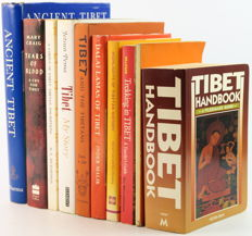 Lot with 10 books about Tibet in English - 1953 / 1997