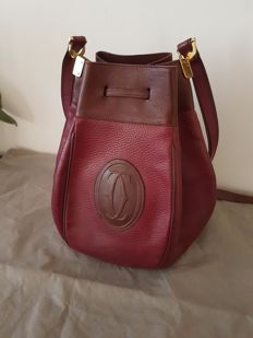 Cartier - Bucket handbag with shoulder strap