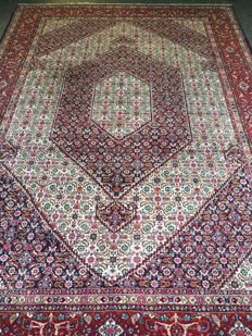Magnificent hand-knotted original Persian MOUD with plant-based colours! approx. 214 x 310 - in mint condition - fast shipping!