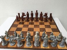 Anri Design King Arthur chess set