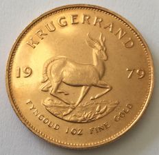 South Africa – 1 krugerrand 1979 – 1oz Gold