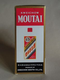 Kweichow Moutai from 2001