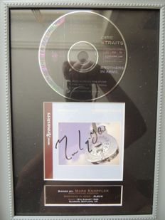 Stunning - Dire Straits  - Marc Knopfler - Brothers In Arms - Signed Autograph (in print) CD With Cover -  Beautiful