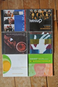 Huge collection  NEW  DUTCH SWING       jazz 60 cd's