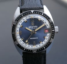 Atlantic Mariner - Diver's watch - 60's
