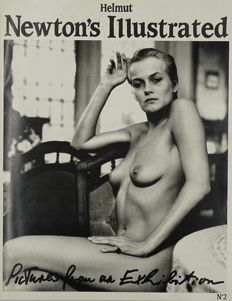 "Photography ; Helmut Newton - Illustrated No. 2 "" Pictures From an Exhibition "" - 1987"