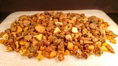 Lot Raw Genuine Baltic amber -  500 grams