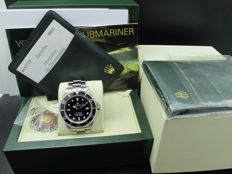 2006 ROLEX SEA DWELLER 16600 FULL SET (Z SERIAL) WITH BOX AND PAPER LIKE NEW