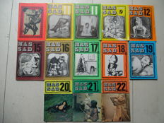 BDSM; Lot with 12 issues of Massad - 1970s