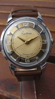 Kirowskieje – Kirov Crab – Made in CCCP – Men's watch – vintage 1950s/1960s