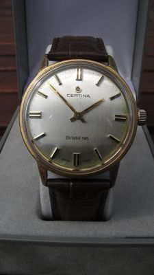 CERTINA BRISTOL 195 – Swiss made – Men's watch – Vintage classic 1960s/1970s – 17 Jewels
