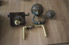 Door fittings -early 20th century