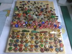 More than 300 automobile and transport pins