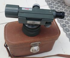 hilger &  watts vintage surveying tool UK 1960 with Leica calibration sticker