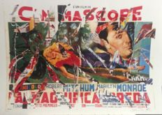 Mimmo Rotella - Untitled