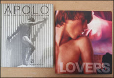 Gay interest; Lot with 2 homoerotic photo books-2001/2004