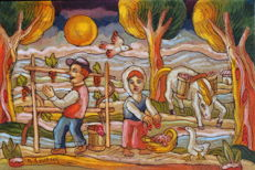 Roberto Sguanci - Vendemmia (grape harvest)