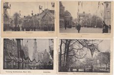 "AMSTERDAM-15 x-""De Versiering""-5 March 1901-wonderful series on the occasion of the wedding of Queen Wilhelmina and Prince Hendrik"