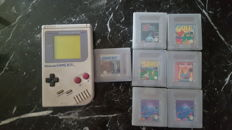 Nintendo Gameboy complete with 7 games like Castlevania and more