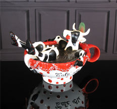 CowParade - Cafe Ole Medium - Carmina Coscollar