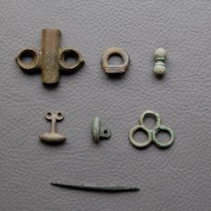 Iron Age Celtic Artefact Group (7) - 22/72 mm