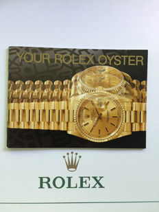 ROLEX BOOKLET