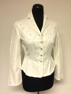Moschino – Blazer with used look