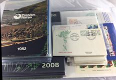 Faroe Islands 1975/2008 – Collection, including year sets and Christmas sheets, among others.
