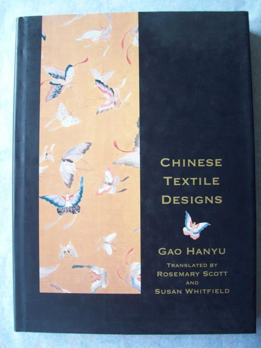 Boek (2) - Hardcover DJ / Softcover - Traditional Textile Designs - China - Verschillende periodes