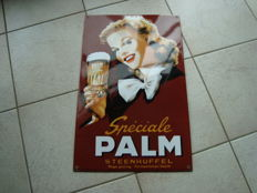Enamel advertising sign - Speciale Palm Steenhuffel - 1980s / 1990s